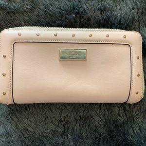 Light Pink Studded Kate Spade Wallet